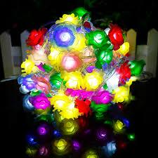 Rose Lights String by Online Get Cheap Led Rose Lights String Aliexpress Com Alibaba