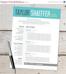 Free Resume Design Templates Creative Resume Microsoft Word Template Instant Download By