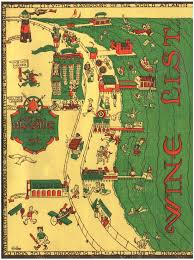 Atlantic City Map Seaside Hotel Atlantic City 1930s Menu Art U2013 Love Menu Art