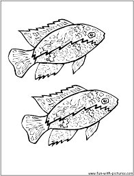 fish coloring pages free printable colouring pages for kids to