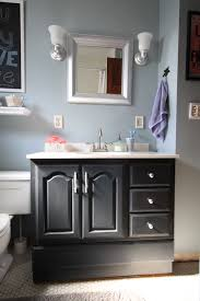 Painting Bathroom Vanity by Bathroom Vanity Makeover With Chalk Paint Decor Adventures