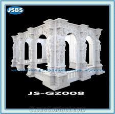 wedding arch gazebo for sale white wedding marble gazebo for sale from china stonecontact