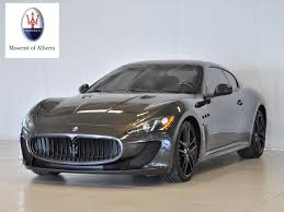 2013 maserati granturismo interior pre owned inventory maserati of alberta