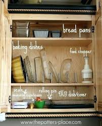 Organizing Kitchen Cabinets Ideas Breathtaking Kitchen Cabinet Organizing Ideas Organization For