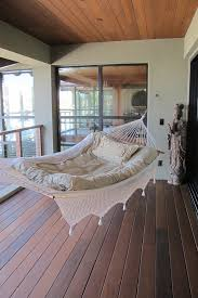innovative hammock chair stand in porch beach style with narrow
