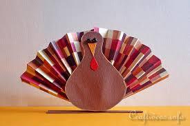 free thanksgiving craft idea paper tom turkey place card