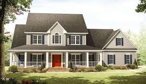 farmhouse wrap around porch country with wraparound porch 51118mm architectural