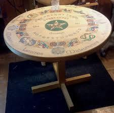 Ouija Board Coffee Table by Macgregor Historic Games U003e Celtic Ouija Table