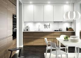 cuisine bois et blanc laqué ikea cuisine blanc laqué cuisine en image