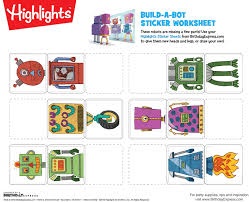 free highlights printable worksheets birthday express