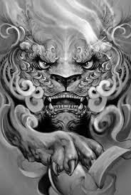 foo fu dog fu dog tattoo search tat tattoo tatoo