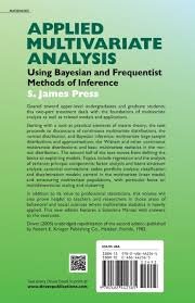 applied multivariate analysis using bayesian and frequentist