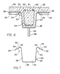 patent ep0240857a2 concrete slab beam form system for composite