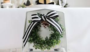 black and white modern farmhouse christmas party