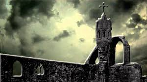 halloween background green scary halloween haunted church free background video 1080p hd