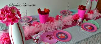 Simple Valentine Table Decoration Ideas by Valentine Day Themes Archives Table Decor Ideas