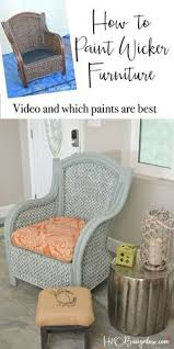 easy and cheap wicker chair update wicker furniture upholstery