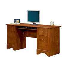 Maple Desks Home Office Realspace Dawson 60 Computer Desk 30 H X 60 W X 24 D Brushed