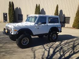bronco jeep 2017 1974 ford bronco maxlider brothers customs