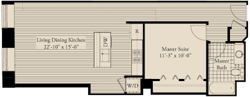 Metropolitan Condo Floor Plan Michigan Avenue Matchup Comparing 390 000 One Bedrooms At