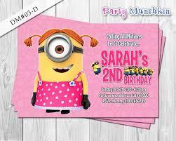 minion birthday invitation ideas tags minion birthday