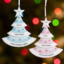personalized christmas ornaments baby personalized christmas gifts for babies personal creations