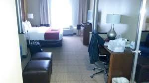 Comfort Suites Tulsa Comfort Suites Central I 44 Hotel 8039 E 33rd St In Tulsa Ok