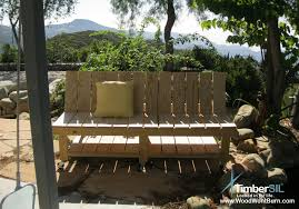 park bench timbersil projects and news