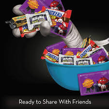 amazon com mars chocolate spooky mix halloween candy variety mix