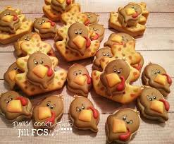 276 best thanksgiving ideas images on fall cookies