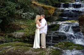 gatlinburg wedding packages for two waterfall wedding services in gatlinburg and pigeon forge area of