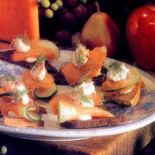 rye bread canapes 10 best smoked salmon canapes recipes