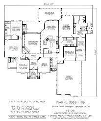 best floor plan for 4 bedroom house open floor plan no dining room 4 bedroom openasia club