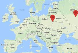russia map belarus russia and belarus hold joint drill on europe s border