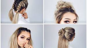 hairstyles youtube 24 winning quick easy cute hairstyles quick and easy hairstyles