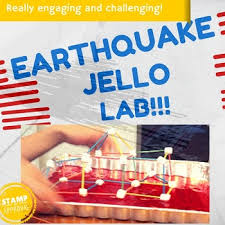 earthquake jello lab activity stem by candy coated scientist tpt