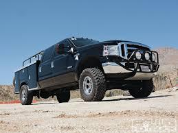 2006 Ford F350 Utility Truck - chase trucks hardest working vehicles around 8 lug magazine