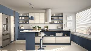 blue kitchen cabinets fitting your blue kitchen cabinet into your kitchen decor
