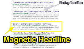 discount travel sites images How to create magnetic headlines for the travel industry jpg
