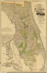 Port St Lucie Fl Map Florida Memory Sectional Map Of Florida 1888 East And