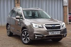 subaru forester silver used 2017 subaru forester 2 0i xe premium for sale in west sussex