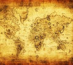 World Map Wallpaper by Antique Nautical Map Wallpaper Wallpapersafari