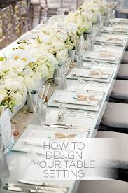 How Do You Take Your Reception Tables From Ordinary To - Design a table setting