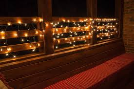 string light suspension kit how to hang outdoor string lights on deck balcony ideas very