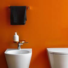 Orange Bathroom Kartell Rail Modern Transparent Towel Bar Stardust