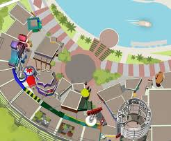 Universal Studios Orlando Interactive Map by Blue Man Group Universal Citywalk Orlando