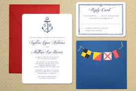 nautical wedding invitations diy nautical wedding invitation with bunting the budget savvy