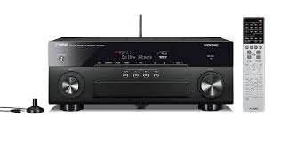 home theater receiver deals amazon com yamaha rx a860bl 7 2 channel network av receiver home