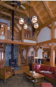 7 best timber frame addition to a log home in vermont images on