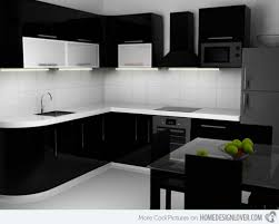 modern black kitchens black kitchen design brick wall in kitchen design modern kitchen